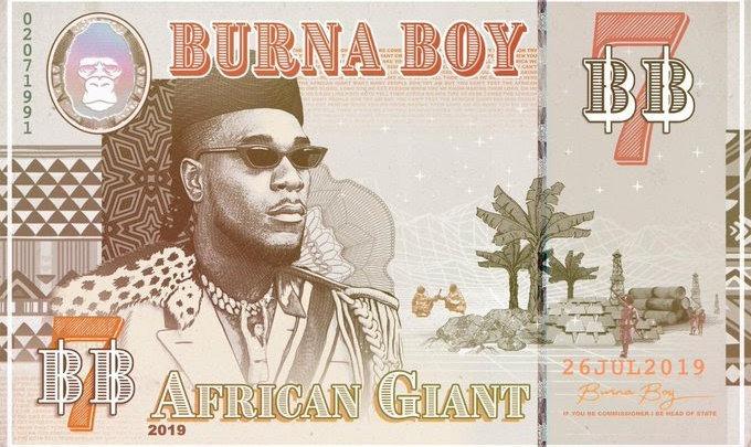 "Burna Boy Announces 7th Body Of Work: ""African Giant"""