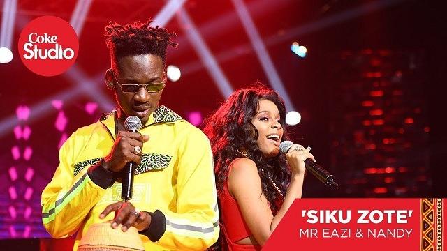 [Audio] Mr Eazi ft. Nandy – Siku Zote