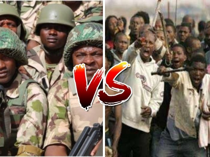 WISE PEOPLE!! 100 Armies VS 1 Million Boys – Who Do You Suppose Will Win?
