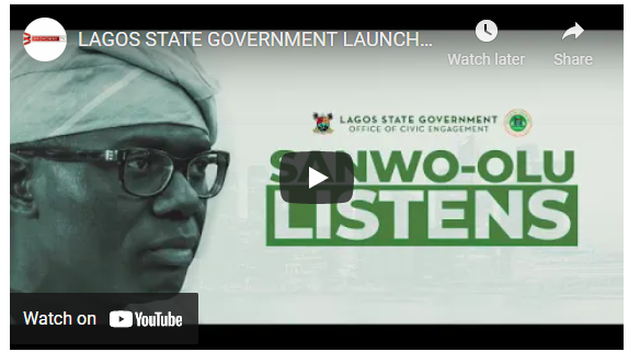 #SanwooluListens! #SanwooluCares!! #SanwoStandswithlagosians!!! The Babajide Olusola Sanwo-Olu administration through the Office of Civic Engagement will be launching the second phase of the Sanwo- Olu Listens. A life-changing social welfare intervention program designed to provide Support, Financial Assistance and Opportunities all aimed towards helping vulnerable Lagos citizens STAND AGAIN.