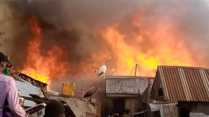 Six family members, including a two-month-old child, died after a blaze engulfed a house in Vietnam's southern metropolis of Ho Chi Minh City, the Police said on Tuesday. The flames tore through the four-storey home in the early hours of Tuesday morning. At 1.00 a.m., witnesses tried to alert the family yet struggled to reach those stuck inside or even called out to them through the fire.