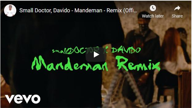 {Video} Small Doctor Ft. Davido – Mandeman Remix